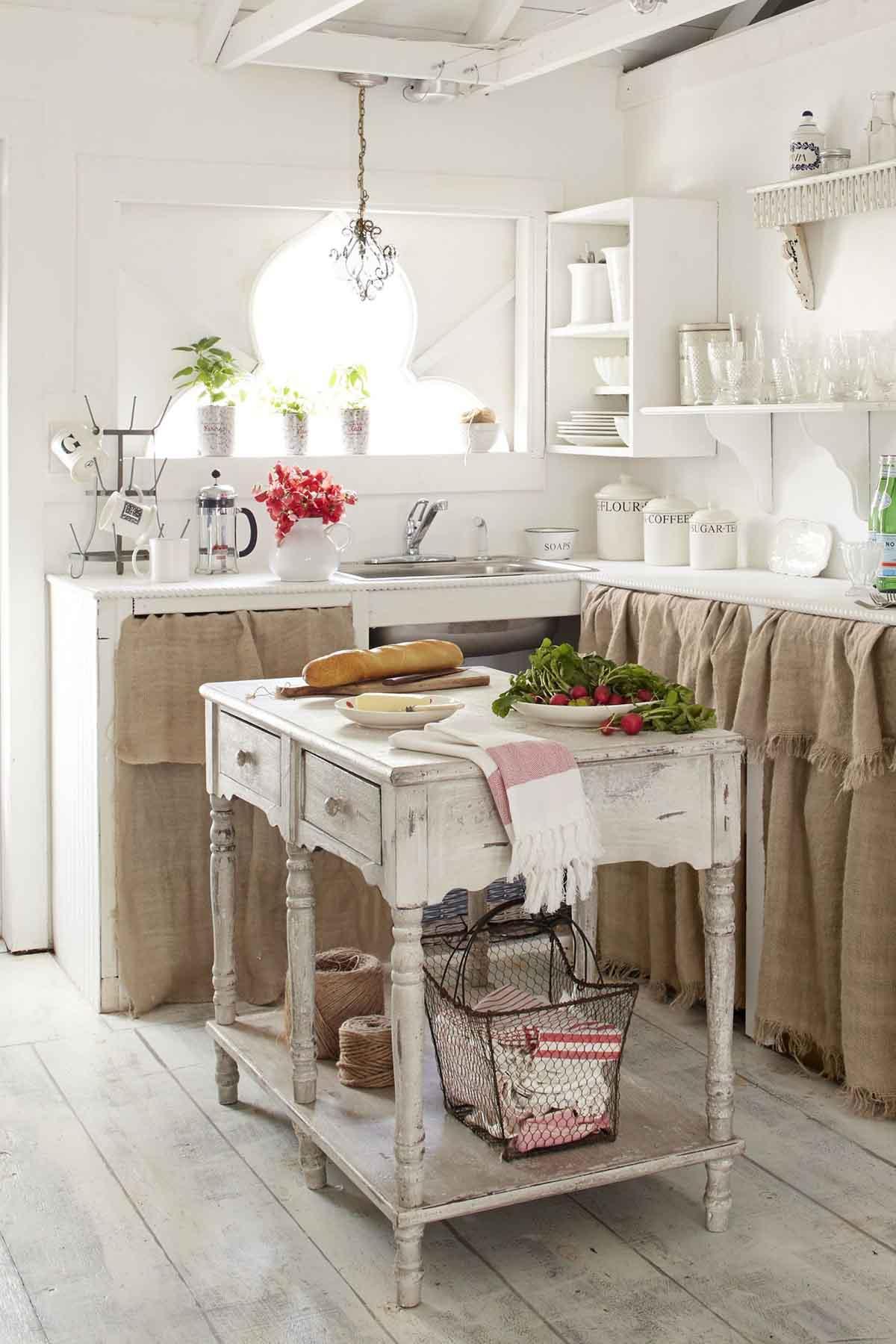 Cucine Stile Retr. Sofisticate Soluzioni Di Arredo With Cucine Stile ...