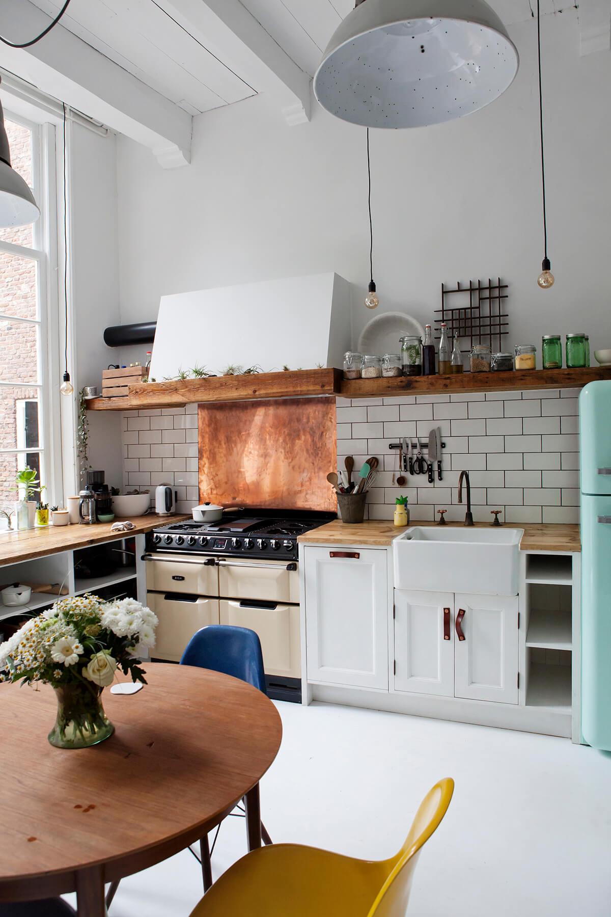 Una cucina stile Vintage
