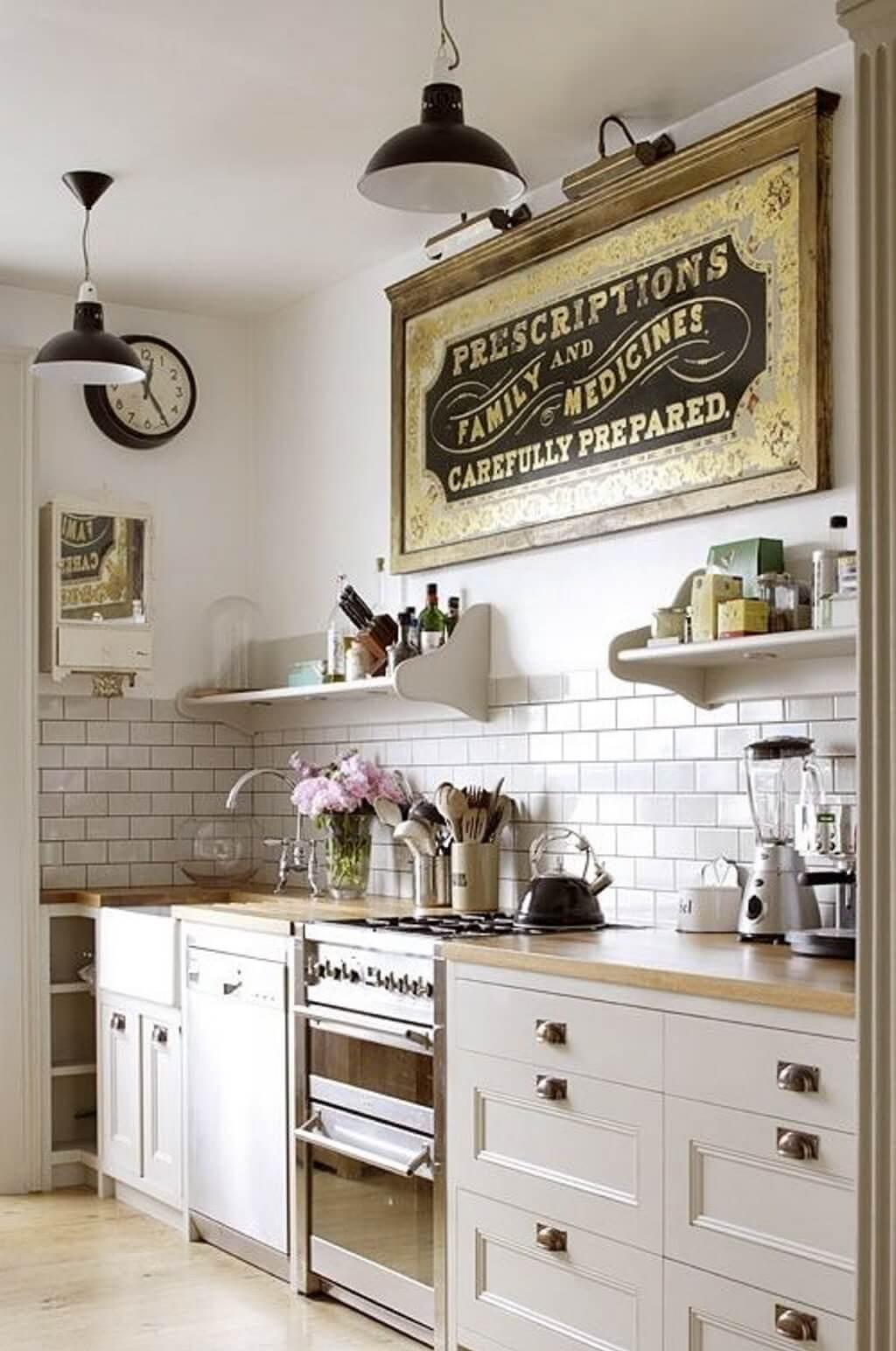 Una cucina stile Vintage! Date un\'occhiata a queste 20 bellissime ...