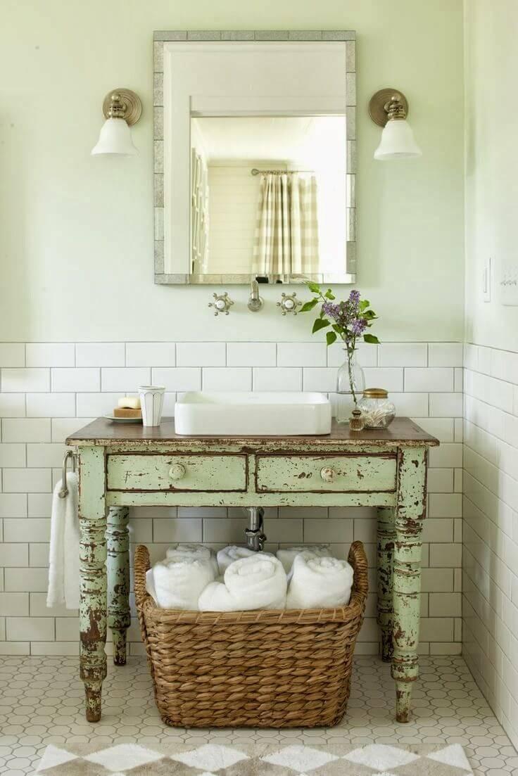 Bagno in stile shabby chic ecco 20 bellissime idee da vedere - Stile shabby chic casa ...