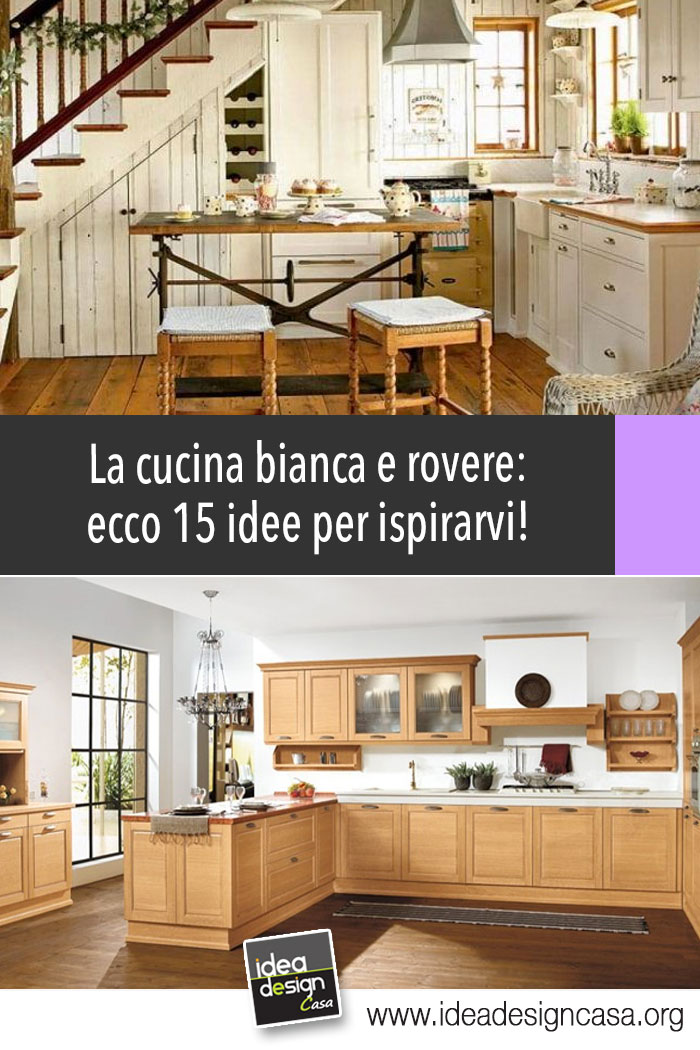 Cocina de roble blanco: 15 brillantes ideas para inspirarte...