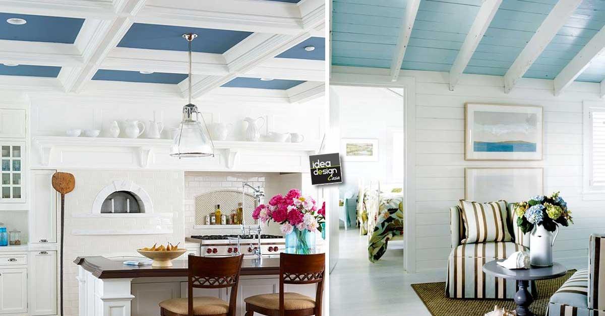 Pittura Per Soffitti Cucina : Colorare il soffitto ecco idee per farvi un idea ispiratevi