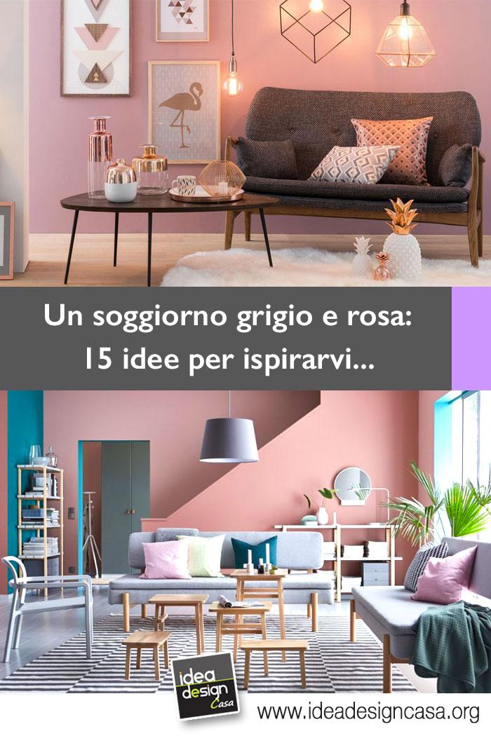 Soggiorno grigio e rosa 15 idee per abbinare con gusto for Soggiorno grigio