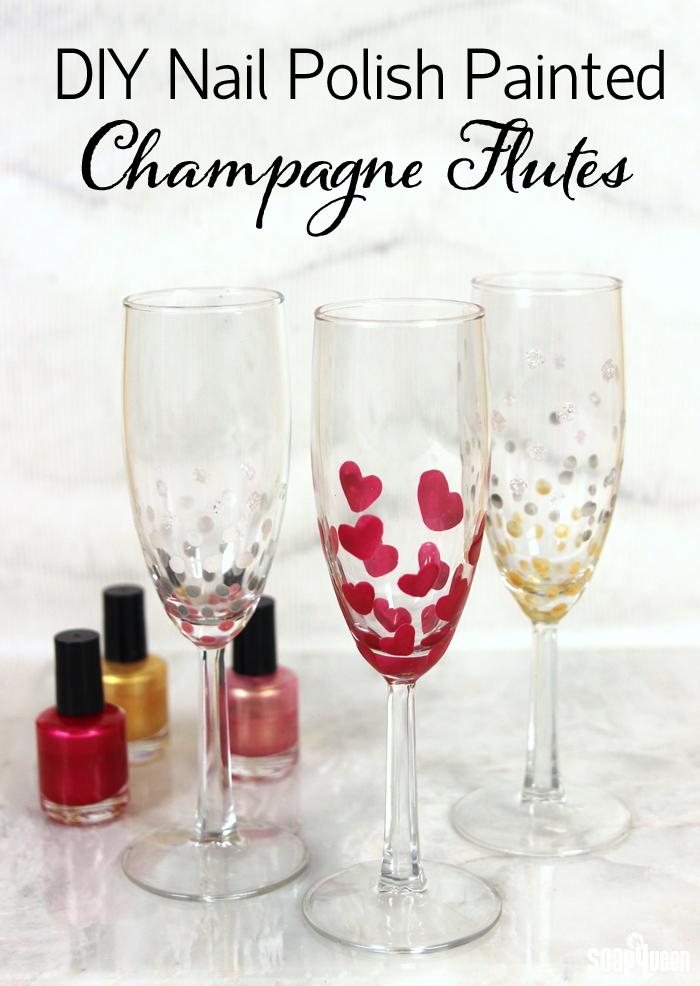 Personalizzare i bicchieri da Champagne