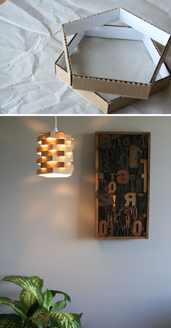 recycler le carton pour d corer la maison voici 15 id es pour vous inspirer. Black Bedroom Furniture Sets. Home Design Ideas