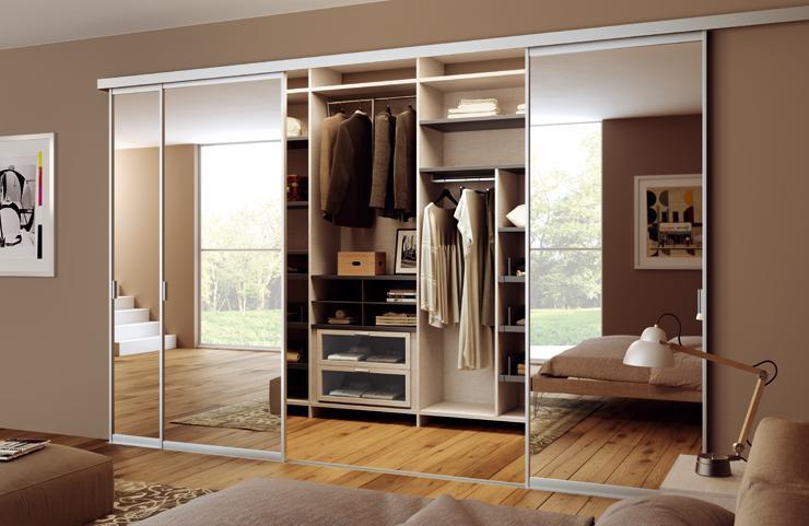 Idee Per Organizzare La Cabina Armadio : Organizzare la cabina armadio per ogni tipo di camera da letto: 15