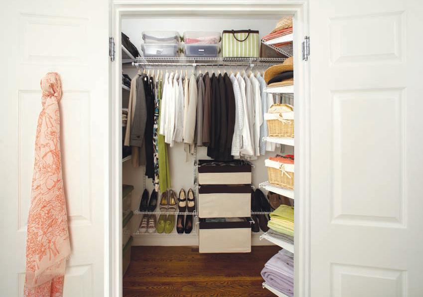 Cabine Armadio Enormi : Organizzare la cabina armadio per ogni tipo di camera da letto: 15