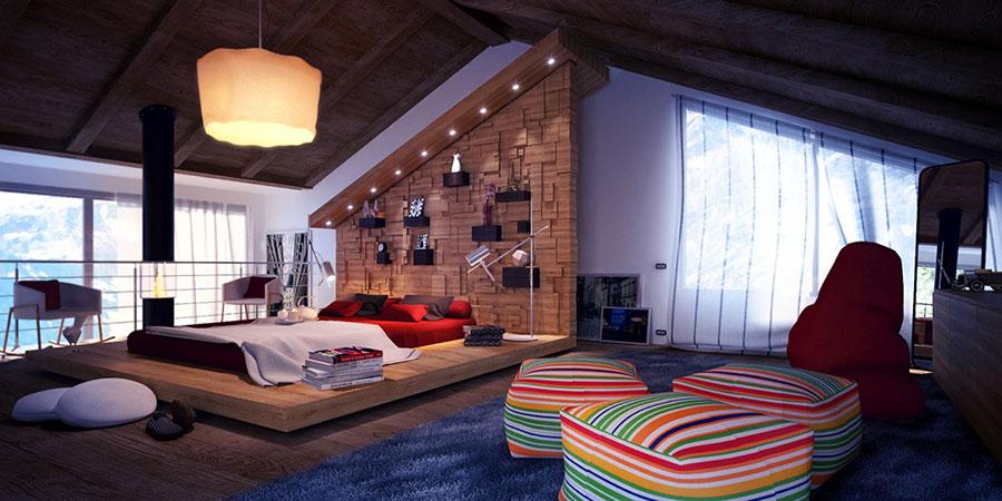 Come trasformare un sottotetto in un piccolo attico: 15 idee ...