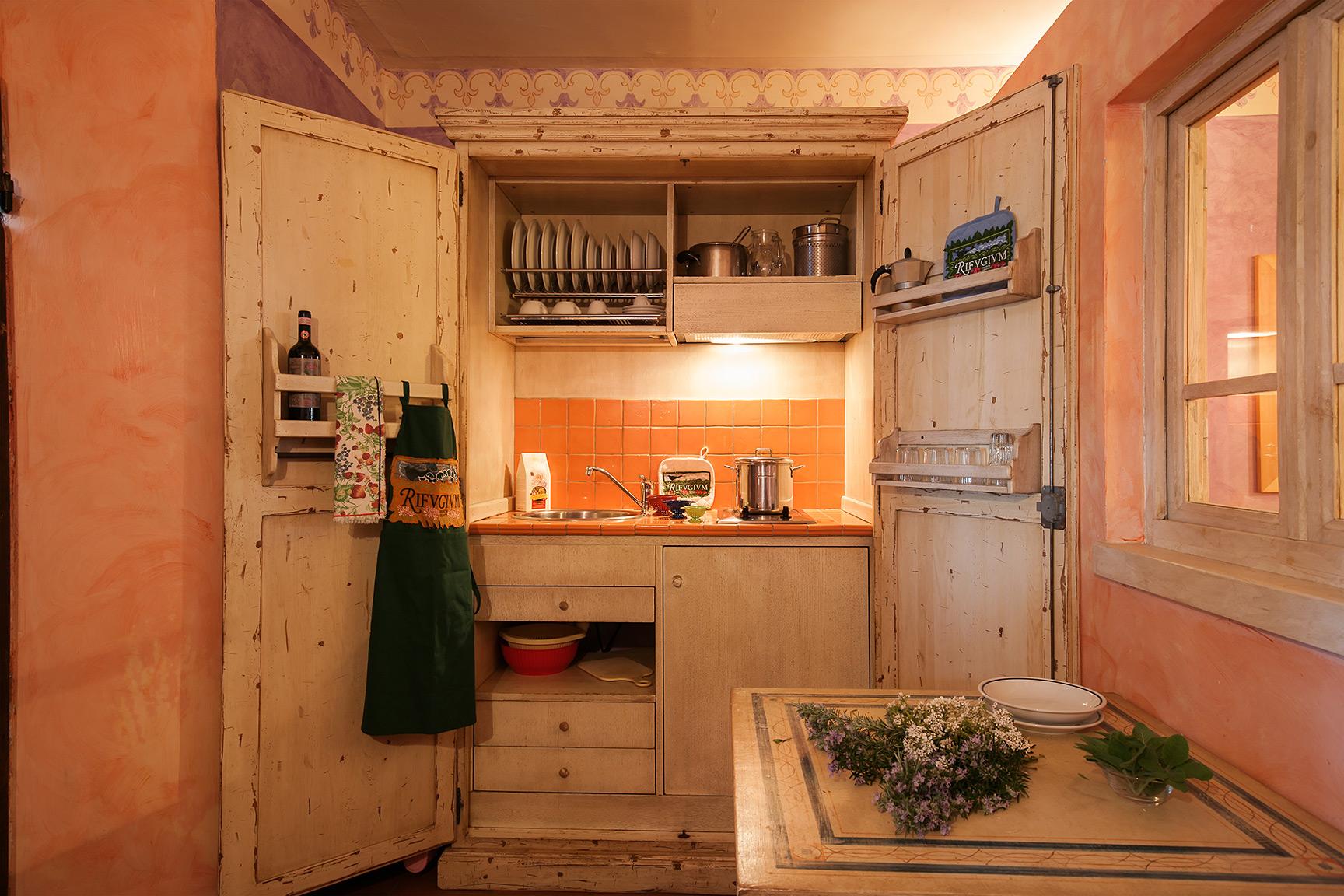 La cucina a scomparsa