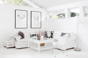 total white per una casa