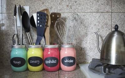 Portautensili fai da te per la cucina! Ecco 15 idee per ispirarvi...