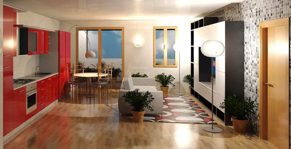 Cucina In Salotto.Il Soggiorno Con Cucina A Vista 15 Proposte Da Cui Trarre