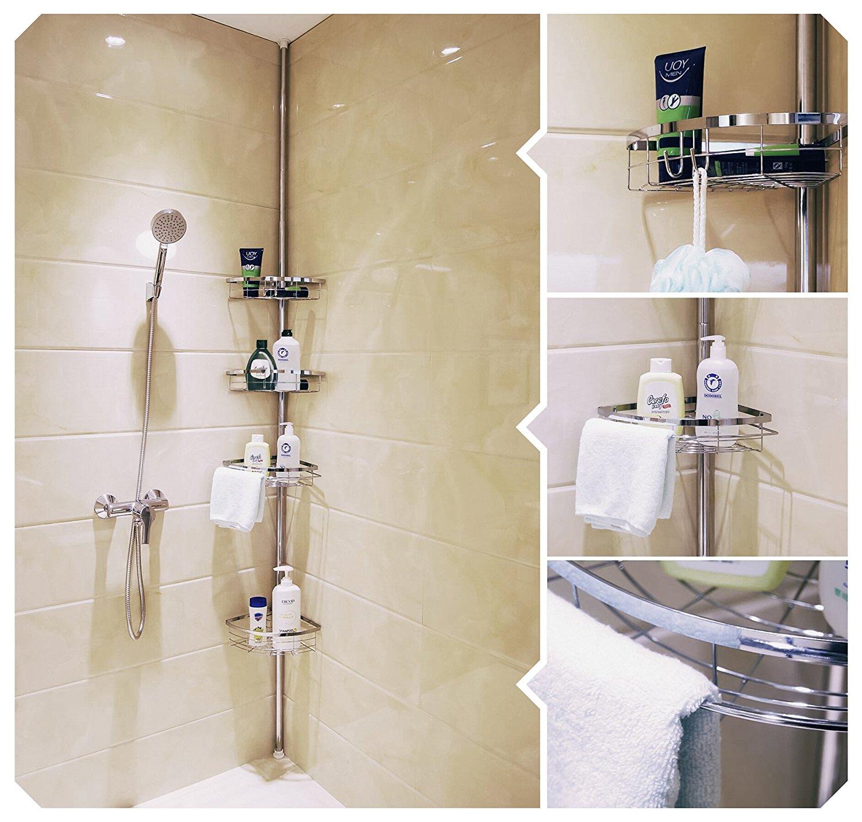 Accessori furbi per il bagno date un 39 occhiata a queste 15 - Angoliera per bagno ...