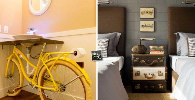 Arredare casa con il riciclo creativo 6 belle idee idea for Riciclo arredo