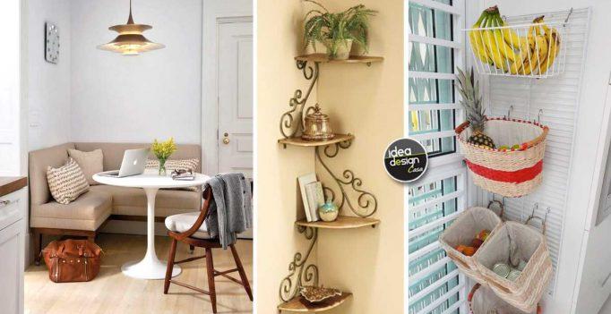 Arredare un angolo in modo intelligente ecco 18 idee da - Idea design casa ...