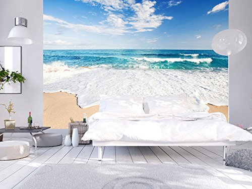 Carta da parati mare e spiaggia