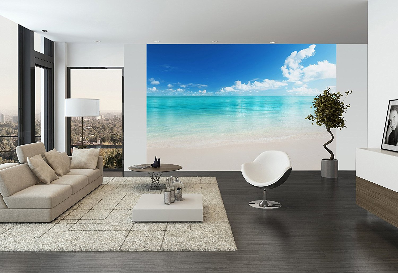 Carta da parati mare e spiaggia ecco 20 idee per sognare for 3 piani di design da spiaggia