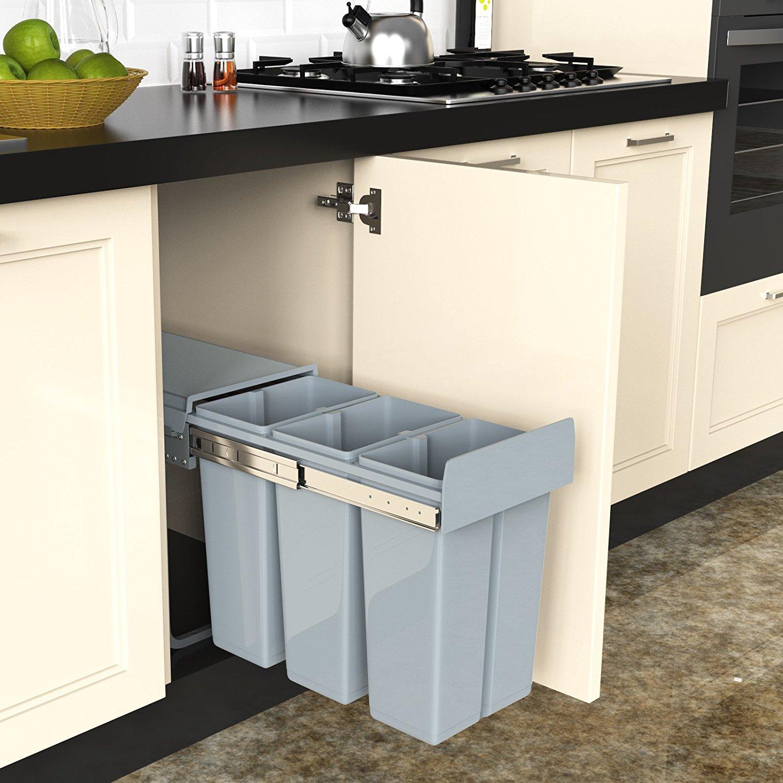 Contenitori per la raccolta differenziata 15 da vedere for Ikea bidoni differenziata
