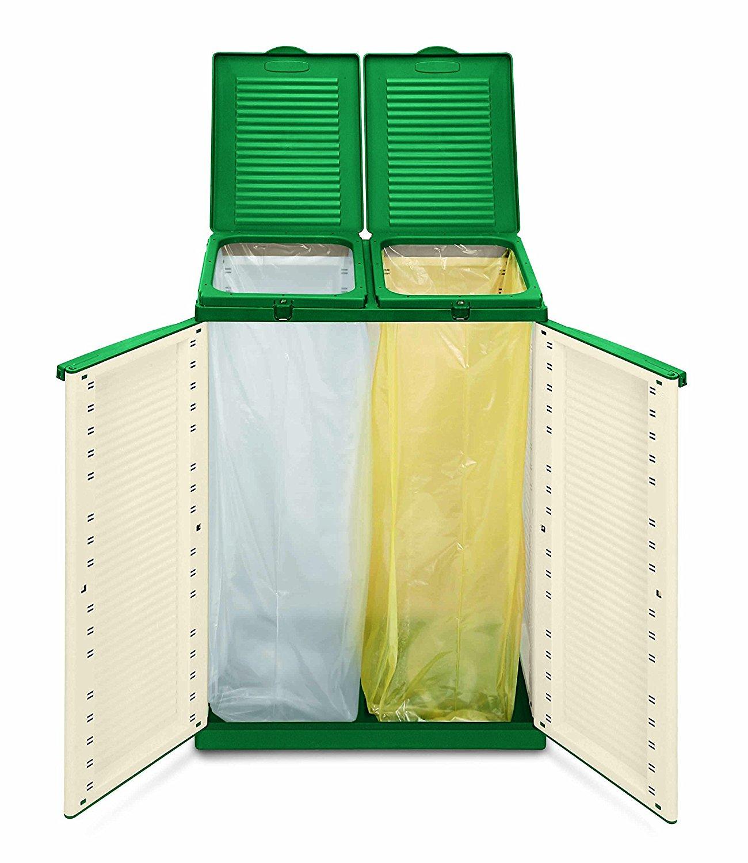 Contenitori per la raccolta differenziata 15 da vedere for Eco design per la casa