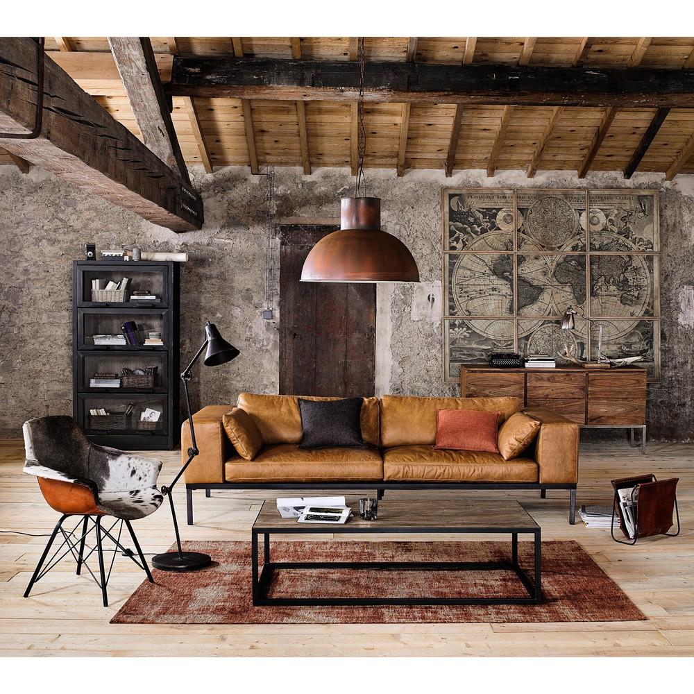 Abbinare tavolino ad un divano in pelle 15 idee per - Tavolino divano ...