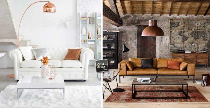 Abbinare tavolino ad un divano in pelle idee per arredare con