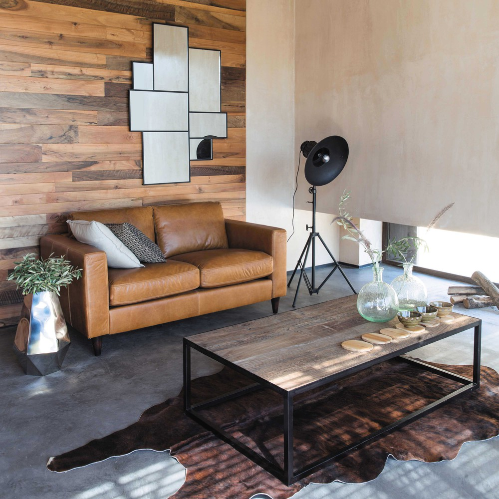 Abbinare tavolino ad un divano in pelle 15 idee per - Maison du monde divano ...