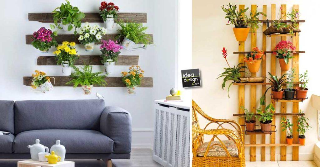 Fioriere da parete fai da te con bancali! 20 esempi per ...