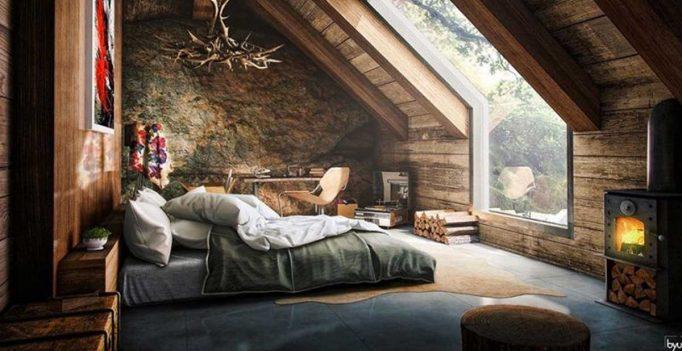 Come trasformare un sottotetto in un piccolo attico: 15 idee per ...