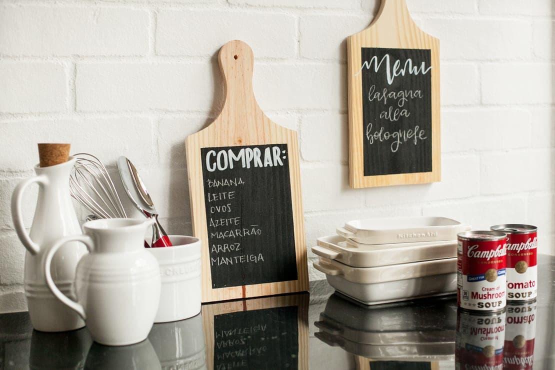 Lavagna fai da te per la tua cucina! Ecco 15 idee a cui ispirarsi...