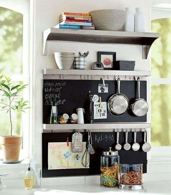 Lavagna fai da te per la tua cucina ecco 15 idee a cui - Lavagna da cucina ...
