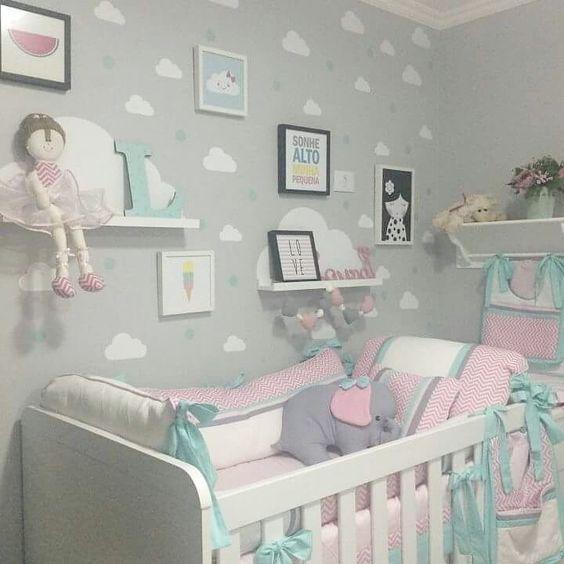 Nuvolette nella cameretta 15 idee per decorare la camera - Cameretta fai da te ...