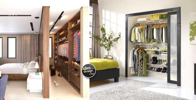 Organizzare Cabina Armadio : Organizzare la cabina armadio per ogni tipo di camera da letto