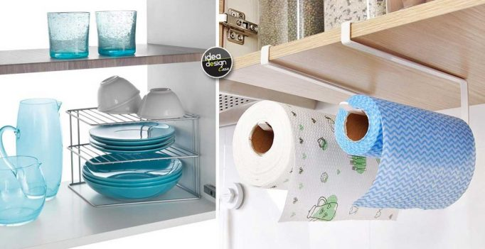 Idee Cucina In Ordine : Accessori per organizzare i mobili in cucina idee da