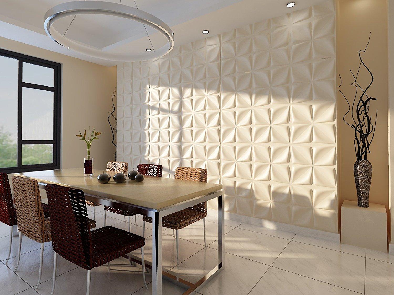Pannelli adesivi 3d per pareti ecco 15 modelli per farvi un 39 idea - Tavole adesive per pareti 3d ...