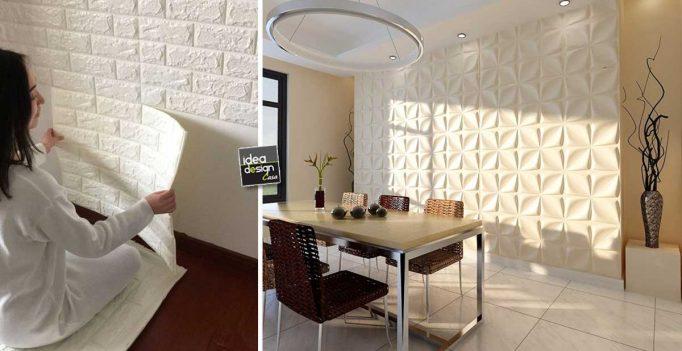 Idee per decorare casa su lasciatevi for Abbellire le pareti