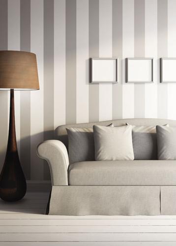 Pareti a strisce per decorare con carattere ecco 20 for Esempi di pareti colorate