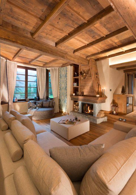 Accostare bianco e legno nel salone 20 bellissimi esempi for Arredamenti bellissimi