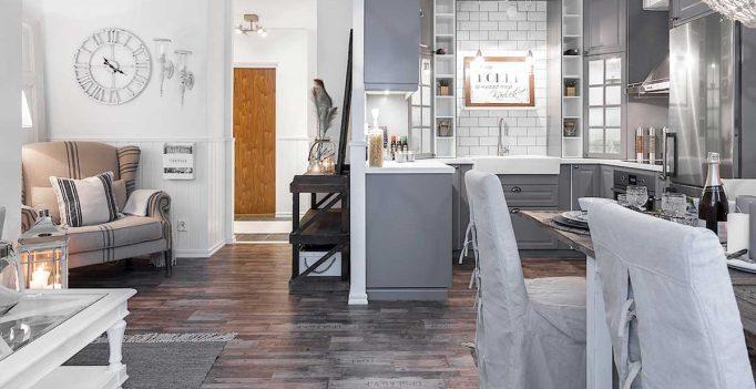 Il soggiorno con cucina a vista 15 proposte da cui trarre for Arredare senza confini