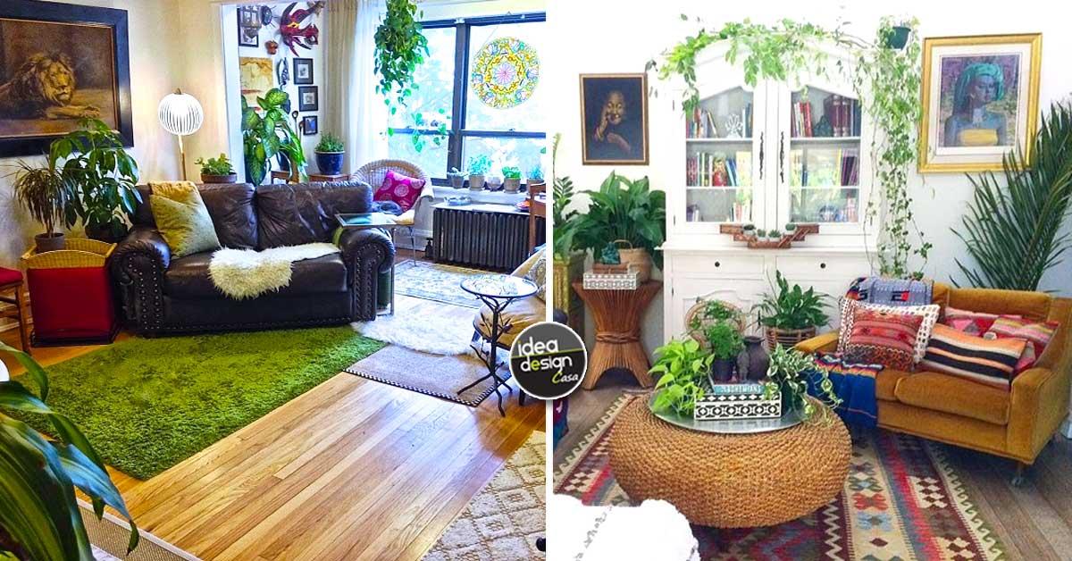 Arredare il soggiorno in stile bohemien 15 bellissime for Idee per arredare il soggiorno foto