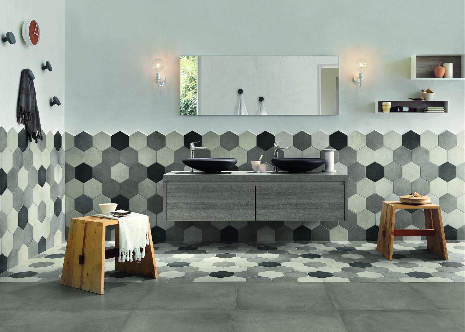 Rivestimento Bagno Con Maioliche valorizzare il bagno con le piastrelle: ecco 15 idee a cui
