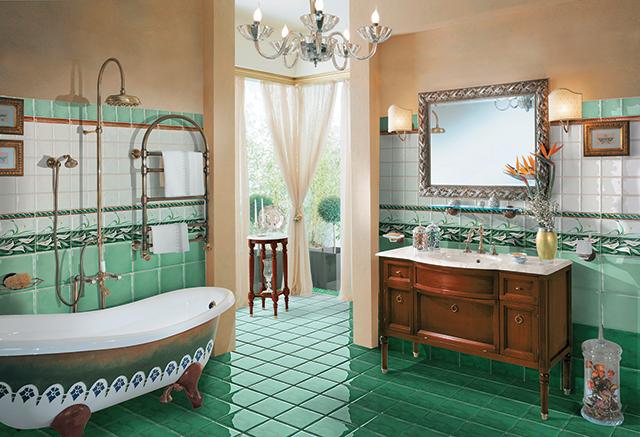valorizzare il bagno con le piastrelle