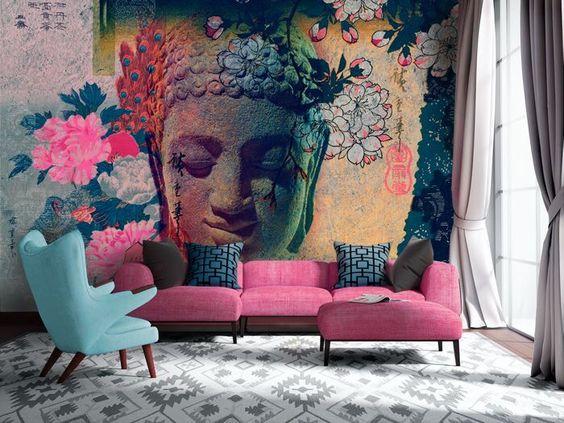abbinare un divano dai colori vivi