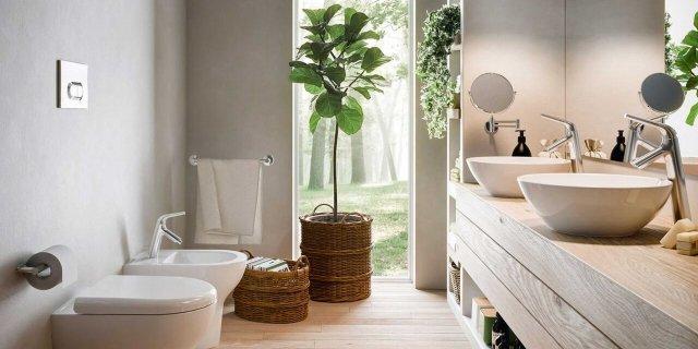 Decorare casa con le piante 15 idee per una casa molto - Piante in bagno ...