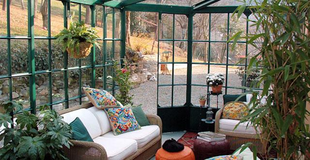 Giardino Dinverno In Casa : Decorare casa con le piante idee per una casa molto accogliente