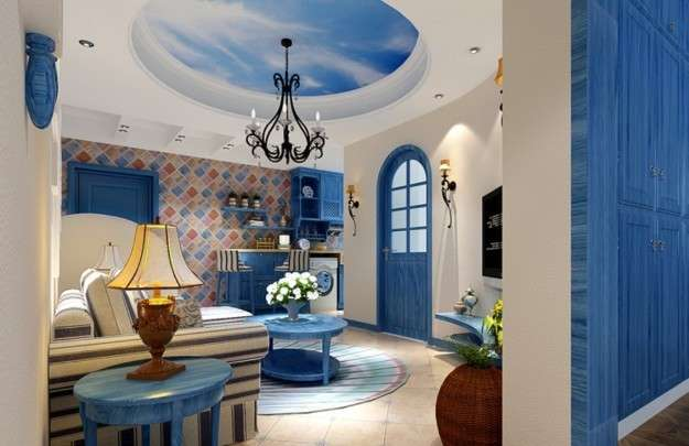 Colore Pareti Azzurro Polvere : Camera da letto dei tuoi sogni deve essere di questo colore