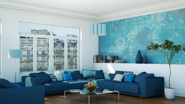 Decorare casa con bianco e azzurro ecco 15 idee per for Arredamento casa bianco