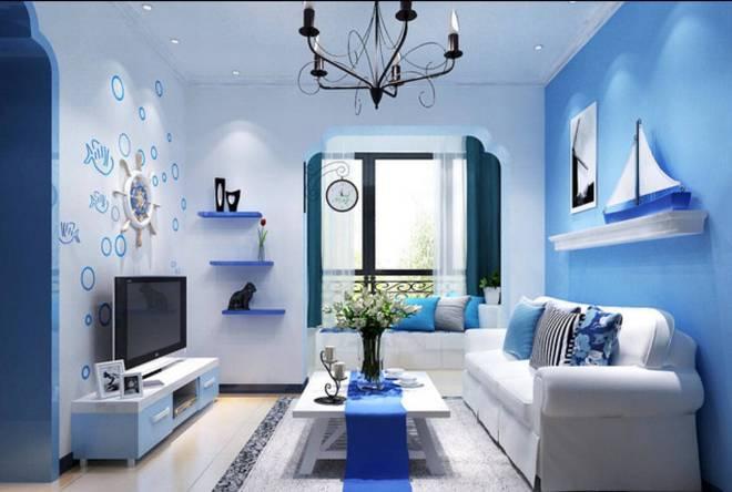 Decorare casa con bianco e azzurro ecco 15 idee per ispirarvi - Idee per decorare pareti di casa ...