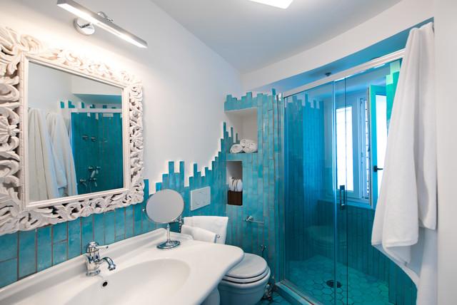 Decorare casa con bianco e azzurro ecco idee per ispirarvi