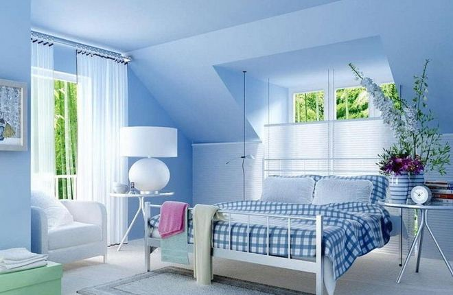 decorare casa con bianco e azzurro ecco 15 idee per. Black Bedroom Furniture Sets. Home Design Ideas