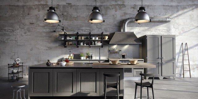La cucina in stile industriale